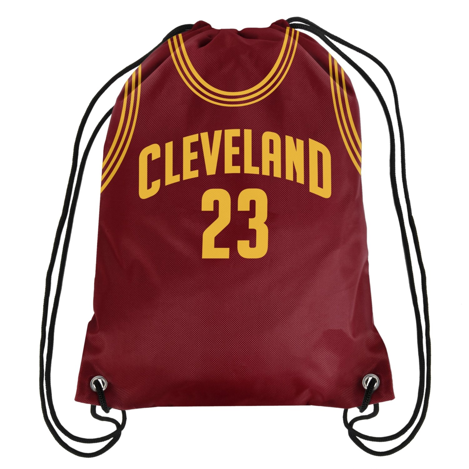 Lebron James Cleveland Cavaliers Jersey Drawstring Backpack