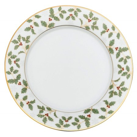 - Noritake Holly and Berry Gold Bread and Butter Plate