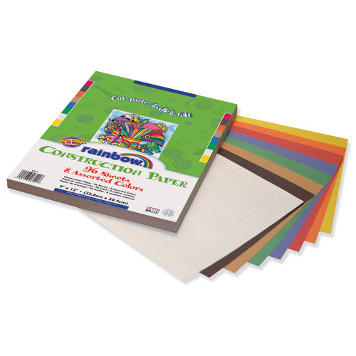 Pacon Corporation 96 Count Rainbow Construction Paper