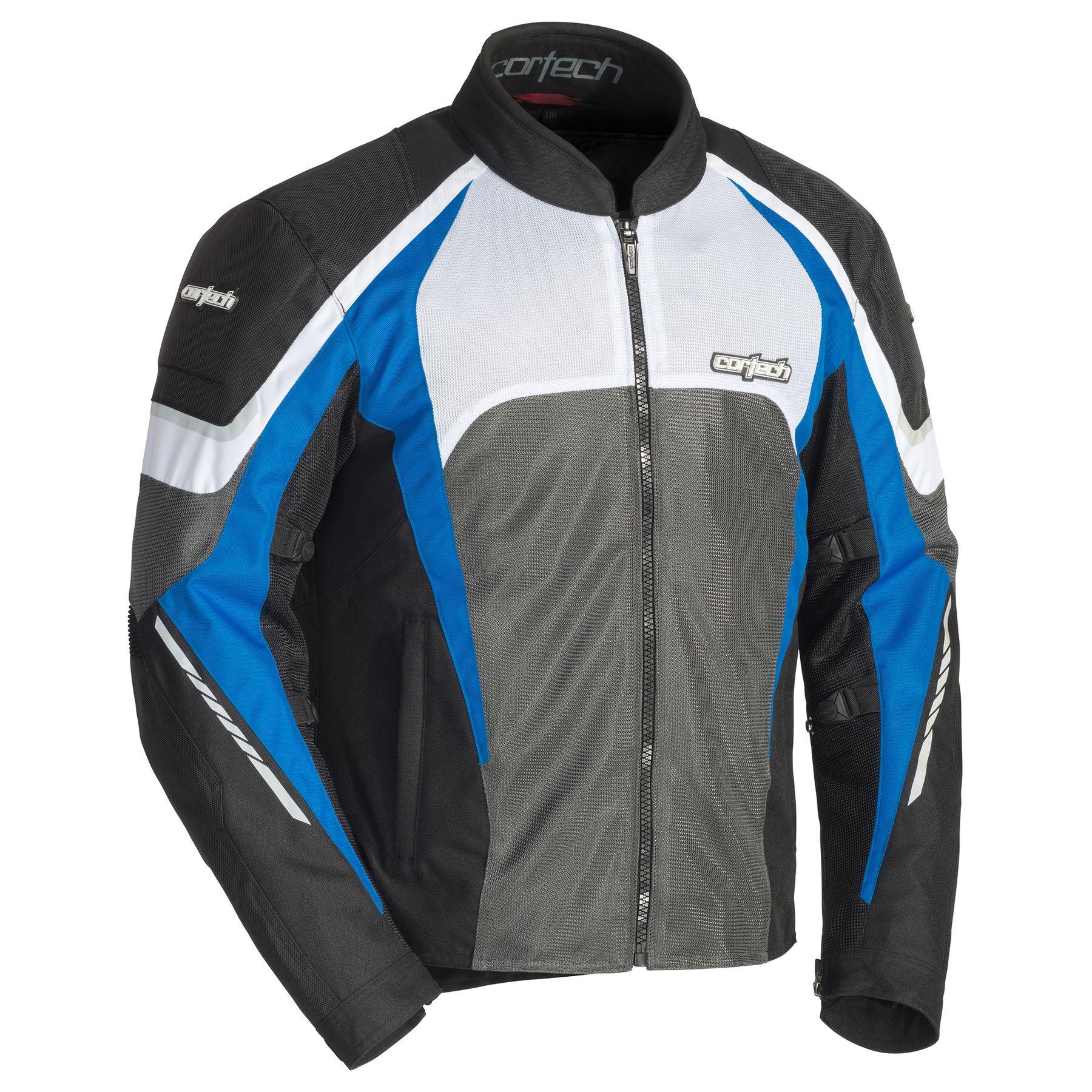 Cortech GX Sport Air 5.0 Mens Jacket Black/Blue