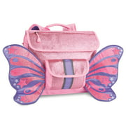 Bixbee Pink Sparkalicious Butterflyer Backpack, Small