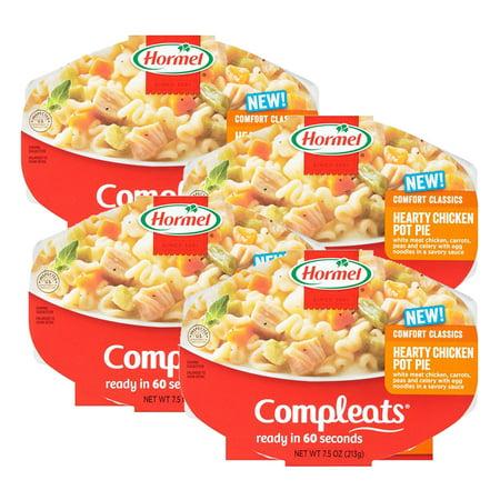 - (4 Pack) Hormel Compleats Chicken Pot Pie, 7.5 Ounce