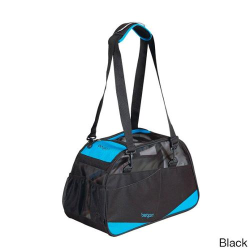 "Bergan Voyager Pet Carrier Small Black 12"" x 8"" x 17"""