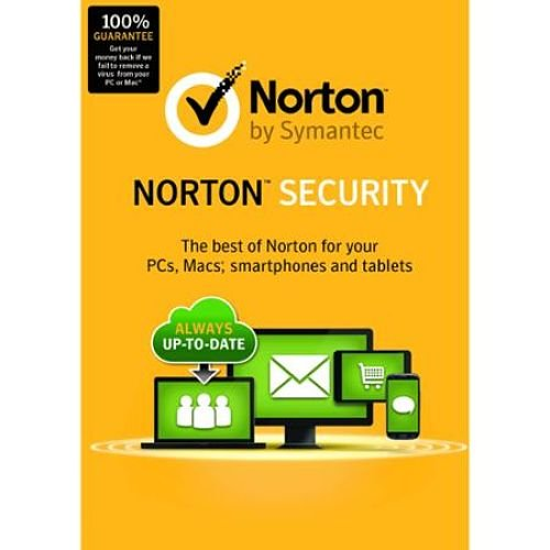 Norton Security 21331299 Antivirus & Security Software 2015 - 5 Devices