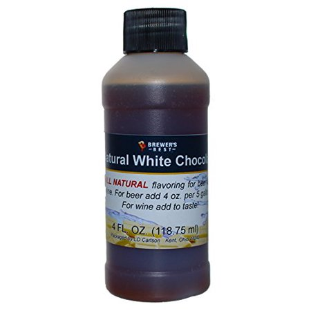 - HOZQ8-679 Natural Beer and Wine Fruit Flavoring (White Chocolate), Brown, Natural white chocolate flavoring By Brewer's Best Ship from US