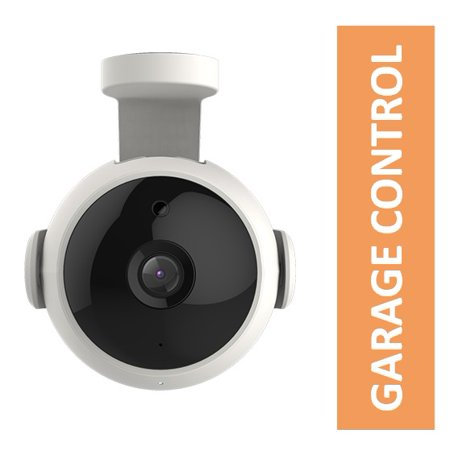 Image of Garager - Smart Visual Controller for Garage Door, HD Wi-Fi Security Camera, App Control, Access Sharing, Motion/Sound Detection and 2 Way Audio