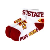 Iowa State Cyclones Youth Quarter Sock