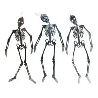 DDI 2339982 46 in. Jointed Plastic Skeleton Decoration, Assorted Color - Case of 12