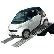 Big Boy MF2-14438-SC Aluminum 12' Folding Ramps for Smart Car
