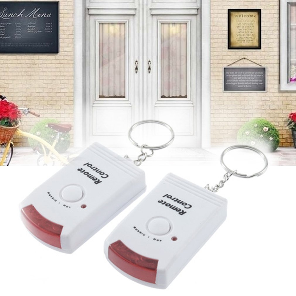 Remote Control Wireless Infrared Motion Sensor Alarm Security Home System Remote Control