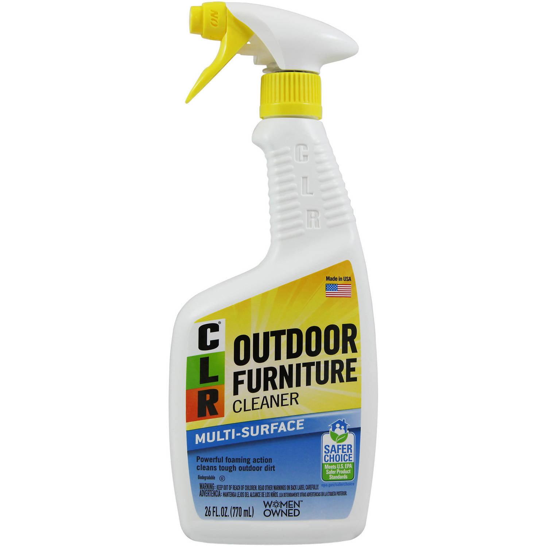 CLR Outdoor Furniture Cleaner, Non-Abrasive Outdoor