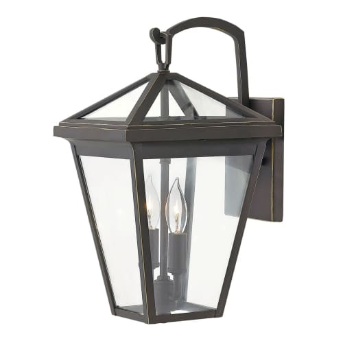 """Hinkley Lighting 2560 Alford Place 2-Light 14"""" Tall Outdoor Wall Sconce"""