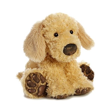 Aurora World Big Paws Golden Lab Plush Dog, Light Brown, Medium - image 1 of 3
