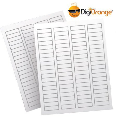 DigiOrange® Return Address Labels 8000 White Laser