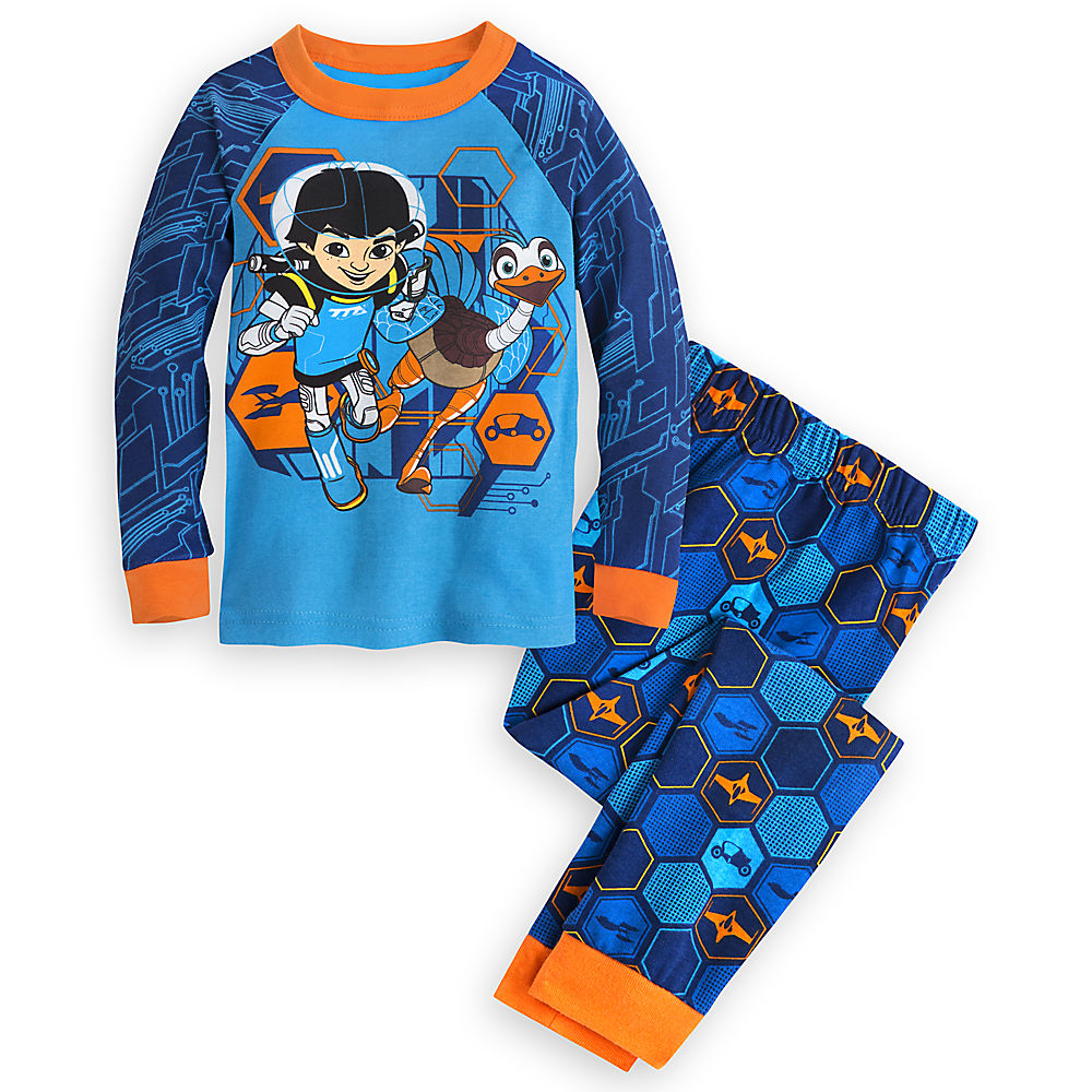 """Disney Store Miles from Tomorrowland """"Time Travel"""" PJ PALS Pajamas  for Boys"""