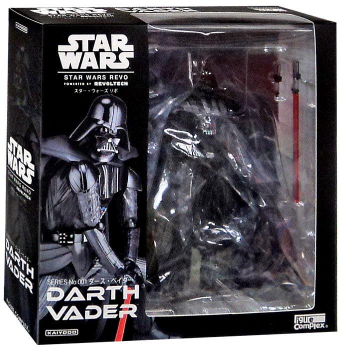 """Star Wars Revoltech Darth Vader 6.7"""" Action Figure #001"""