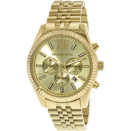 Michael Kors Lexington Gold-Tone Chronograph Men