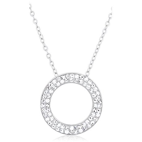 Circle Of Life Pendant Doma jewellery mas01233 sterling silver circle of life necklace with doma jewellery mas01233 sterling silver circle of life necklace with crystals audiocablefo