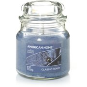 American Home by Yankee Candle Classic Denim, 12 oz Medium Jar
