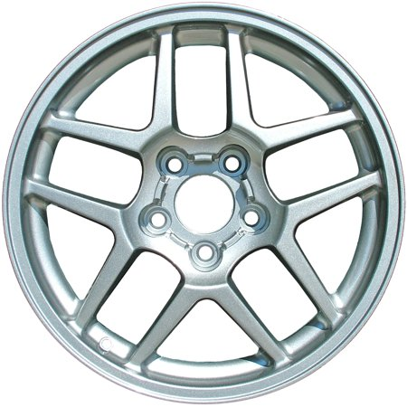 (2001-2002 Chevrolet Corvette  17x9.5 Aluminum Alloy Wheel, Rim Front Chrome Plated - 5123)