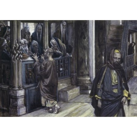 Judas Goes to the High Priests James Tissot (1836-1902French) Canvas Art - James Tissot (18 x 24)