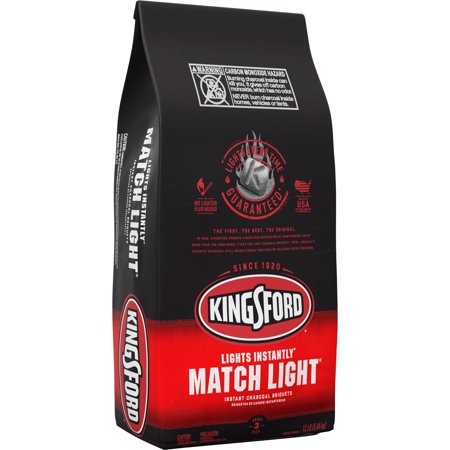- Kingsford Match Light Instant Charcoal Briquettes, BBQ Charcoal for Grilling - 12 Pounds