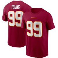 Chase Young Washington Football Team Nike Player Name & Number T-Shirt - Burgundy