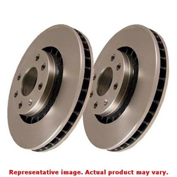EBC Brakes RK906 EBC Brake Rotor - Ultimax OE Style Disc Kit Front Fits:JEEP 1