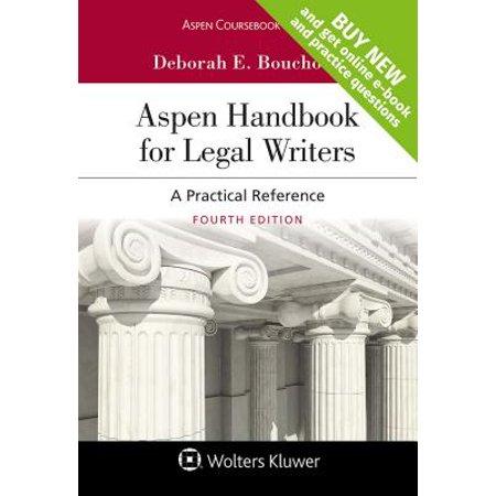 Aspen Handbook for Legal Writers : A Practical