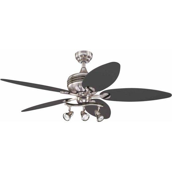 Ceiling fans walmart westinghouse 7234265 xavier ii 52 reversible five blade indoor ceiling fan mozeypictures Gallery