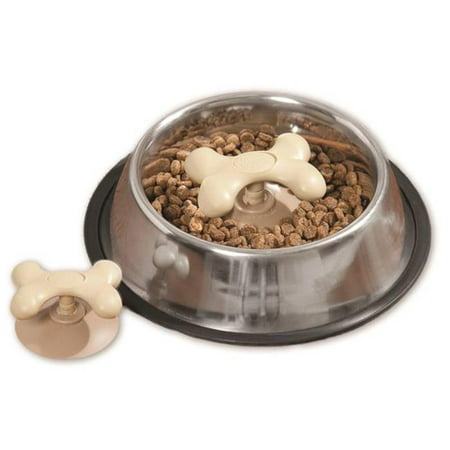 Boss Pet Products 1866854 Gobble Stopper Small Slow Feeder Bowl Insert - image 1 of 1