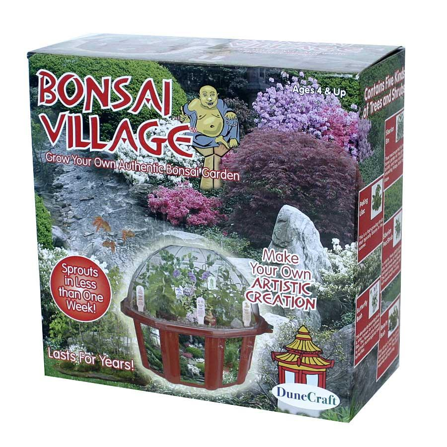 DuneCraft Bonsai Village Garden Kit by Overstock