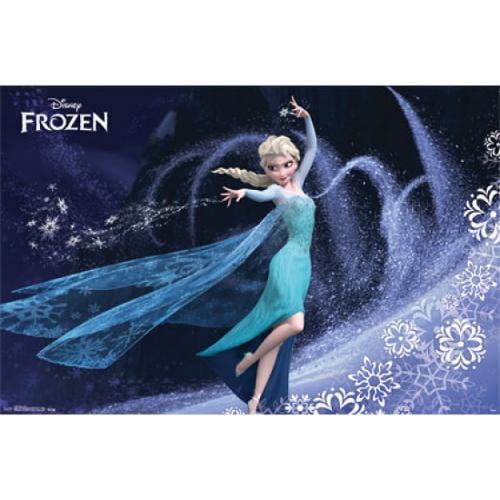 Mural - Frozen - Elsa Poster Print (42 x 62)