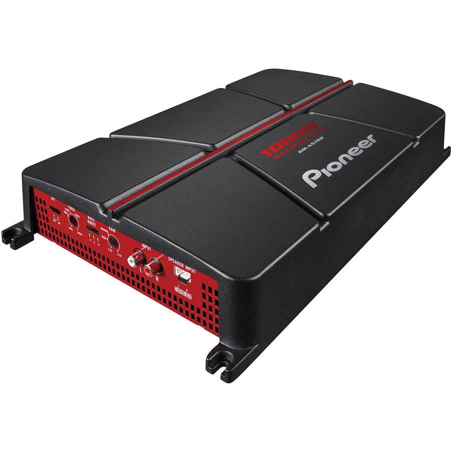 Pioneer 2-Channel Bridgeable Amplifier with 1000 Watts by Pioneer