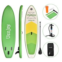 "Uenjoy Inflatable Sup W/ 3 Years Warranty 11'30""x6"" All Around Paddle Board, W/Full Accessories, Perfect for Yoga Fishing Touring"