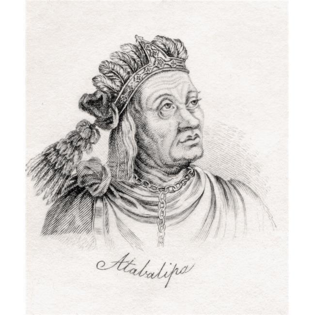 Posterazzi DPI1855470 Atahualpa Atahuallpa Atabalipa Or Atawallpa 1497-1533 Last Sovereign Emperor Poster Print, 13 x 16 - image 1 of 1