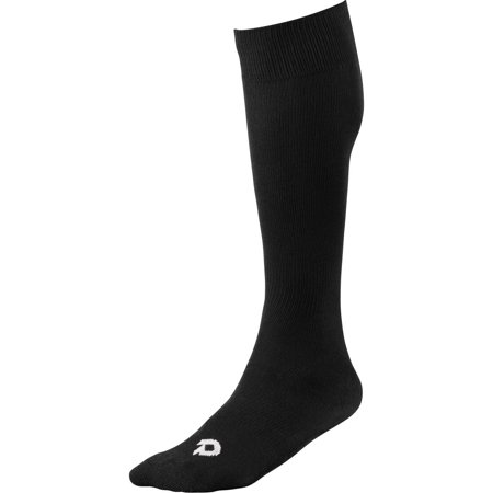 DeMarini WTD4448 Game Sock Black XL Adult Long Baseball Softball Socks