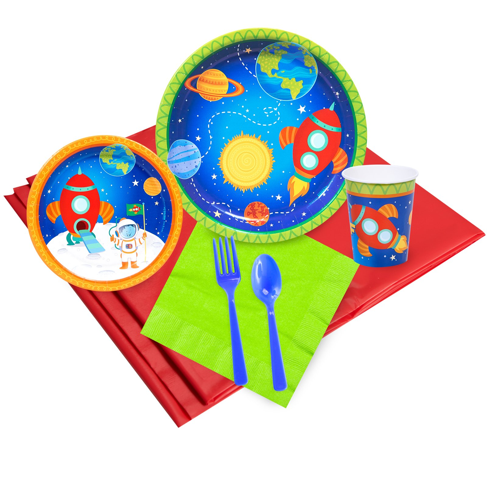 Rocket to Space Party Pack (24)