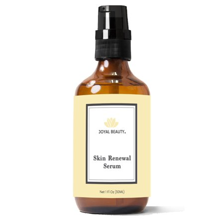 Joyal Beauty Organic Skin Renewal Serum for Face Skin Eyes. Best Intensive Firming Renewing Resurfacing Solution to Get Your Flawless Baby Soft Skin. Enriched with Honey, Royal Jelly, Bee