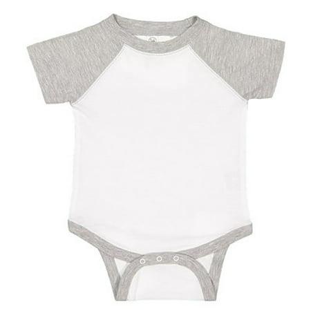 Rabbit Skins Infant Baseball Fine Jersey Bodysuit 4430 ()
