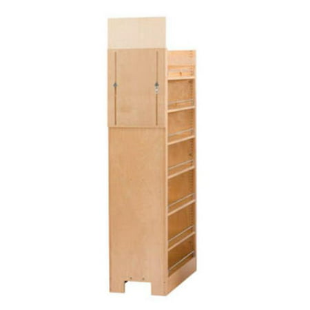 Rev A Shelf Rs448 Tp58 8 1 8 In W X 58 25 In H Pull Out Pantry Organizers With Shelves