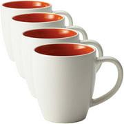 Rachael Ray Dinnerware Rise 4-Piece Stoneware Mug Set