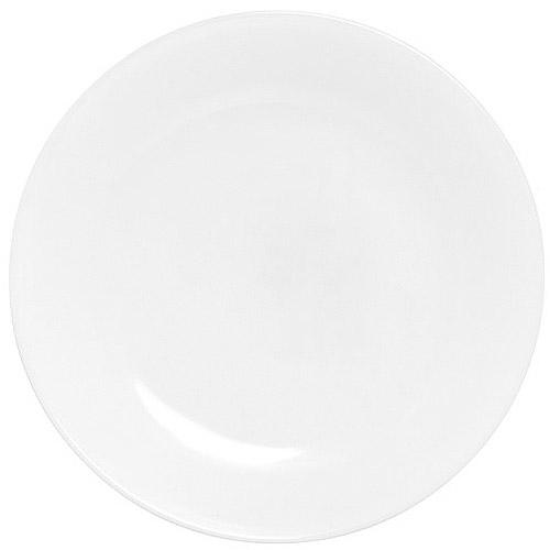 "Corelle Livingware Winter Frost White 8.5"" Lunch Plate"