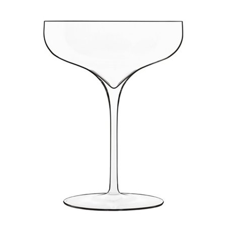 Luigi Bormioli Vinea Coupe Moscato/Spumante Wine Glass - Set of 2 (Sweet Wine Moscato)
