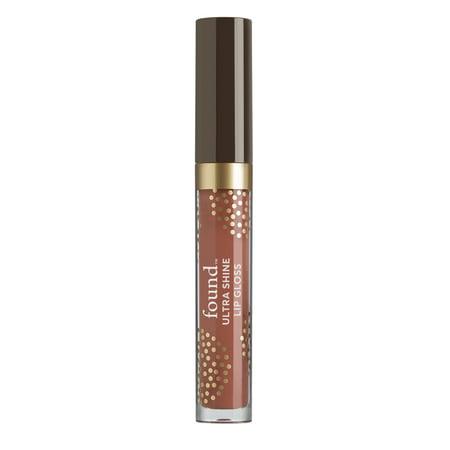 Ultra Shine Lip Gloss - FOUND Lip Ultra Shine Lip Gloss with Avocado Extract, 320 Sand, 0.13 Fl Oz