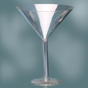 Plastic Martini Glass 12