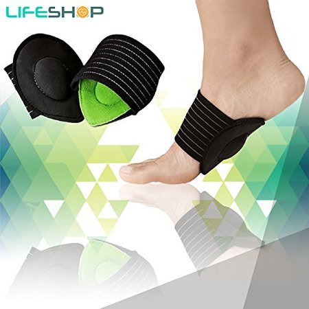 Plantar Fasciitis Foot Arch Cushioned Support ( 3-pairs ) Green](Greek Arch)