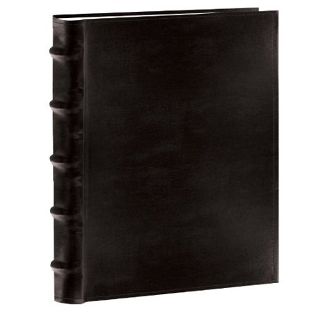 Pioneer Photo Albums Clb257 Bl Leather Bi Directional Album 5x7 2 Up