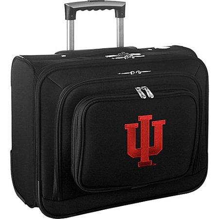 Denco NCAA Wheeled Laptop Overnighter - Indiana