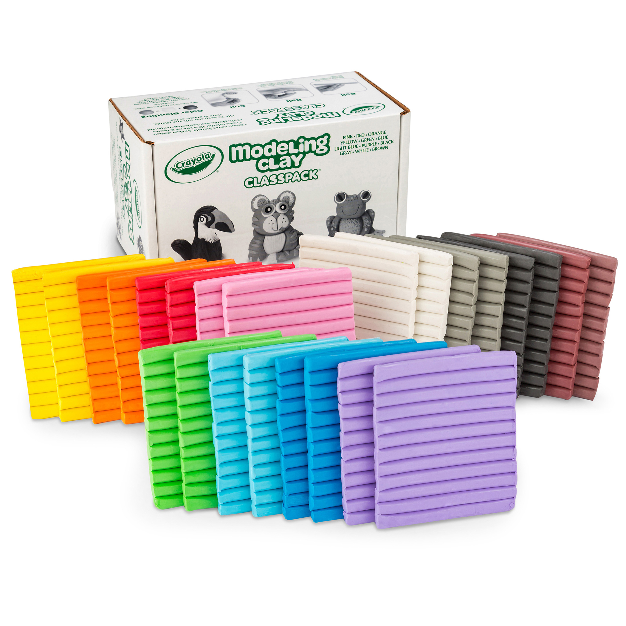 Crayola® Modeling Clay Classpack, Assorted Colors, Set of 24
